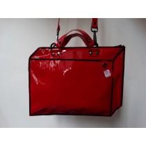koffer Lakleer rood