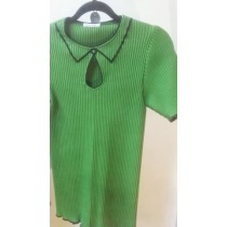 2D tricot-top green