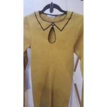2D tricot-top Oker