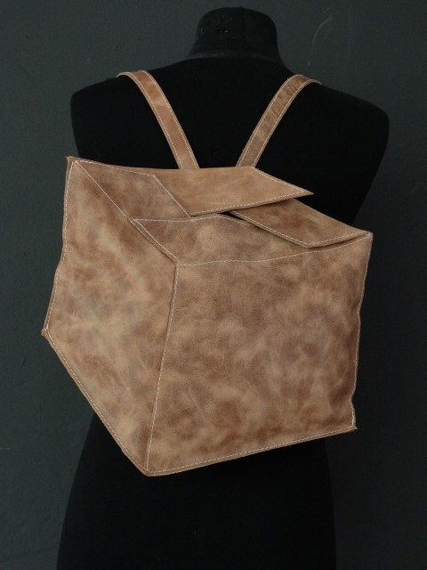 Cardboardbox backpack