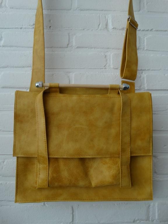 GARAGE-SOEK werk-tas geel